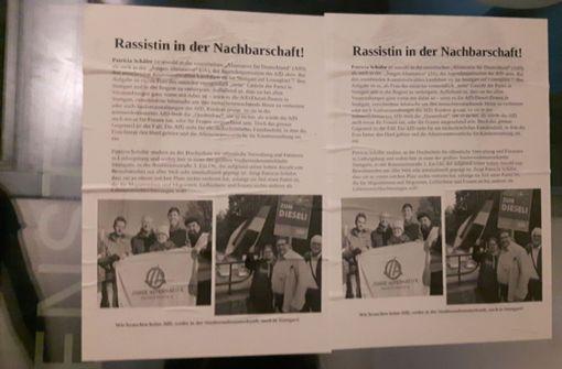 Schmutzige Aktionen begleiteten den Wahlkampf in Stuttgart