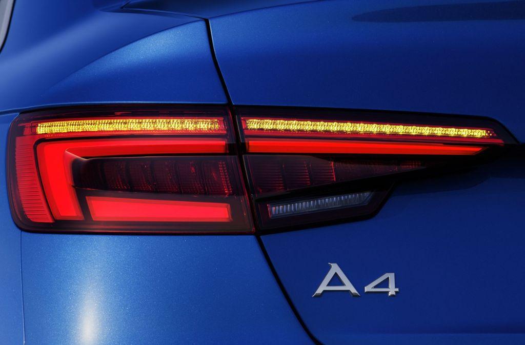 Audi hat zurzeit  lange Lieferzeiten beim Modell A 4, einem der  beliebtesten Modellen der VW-Tochter. Foto: Audi