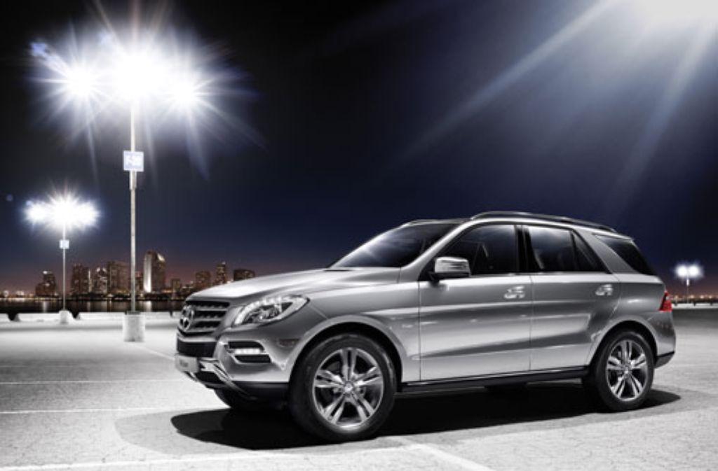 Ein solcher Mercedes SUV ist am Wochenende in Stuttgart-Möhringen gestohlen worden. (Symbolfoto) Foto: Mercedes Benz