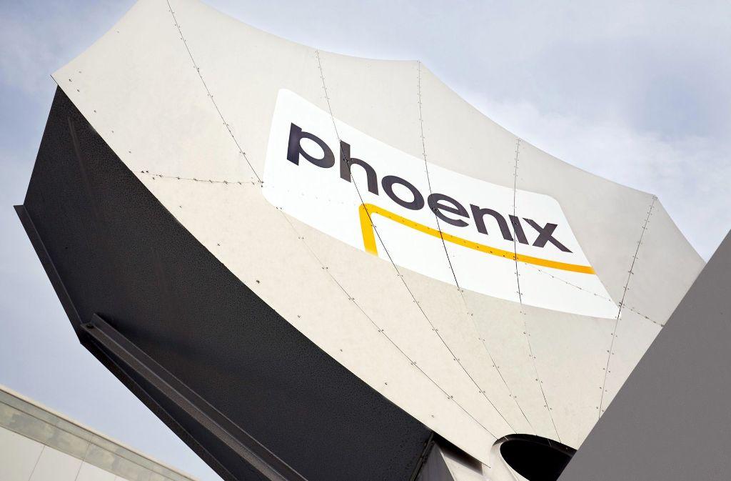 Die Sendeschüssel von Phoenix in Bonn Foto: PHOENIX/WDR/Langer