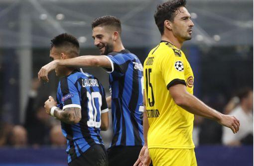 Ideenloser BVB verliert in Mailand