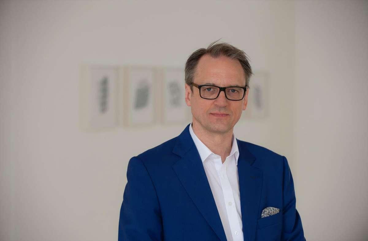 Netzwerker für junge Kunst:   der Kulturmanager Bernd Milla Foto: Kunststiftung/Frank Kleinbach