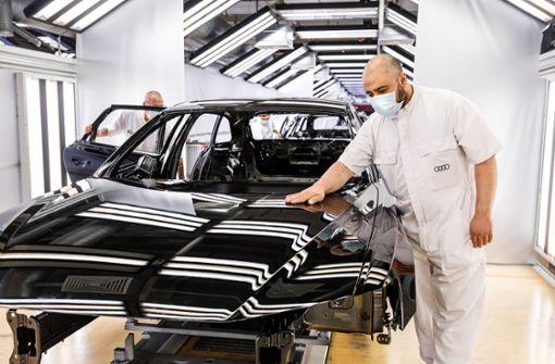Auch  Audi muss Zwangspause einlegen