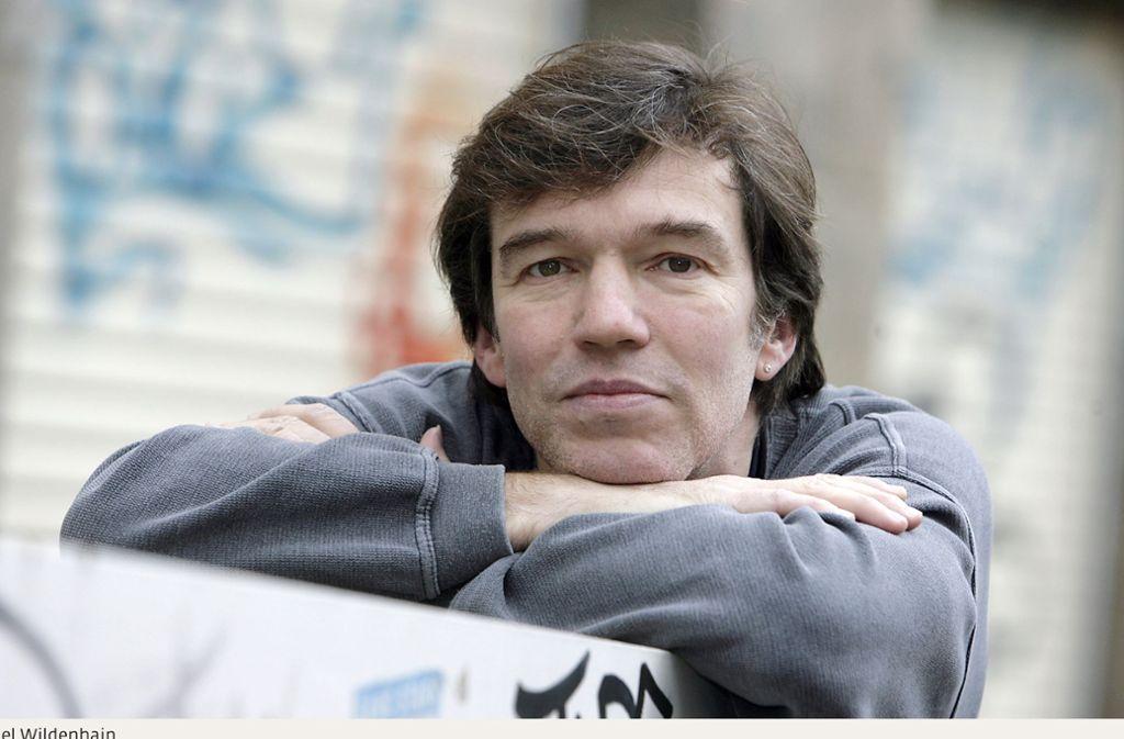 Drei Monate war Michael Wildenhain Stipendiat des Stuttgarter Schriftstellerhauses. Foto: Marijan Murat