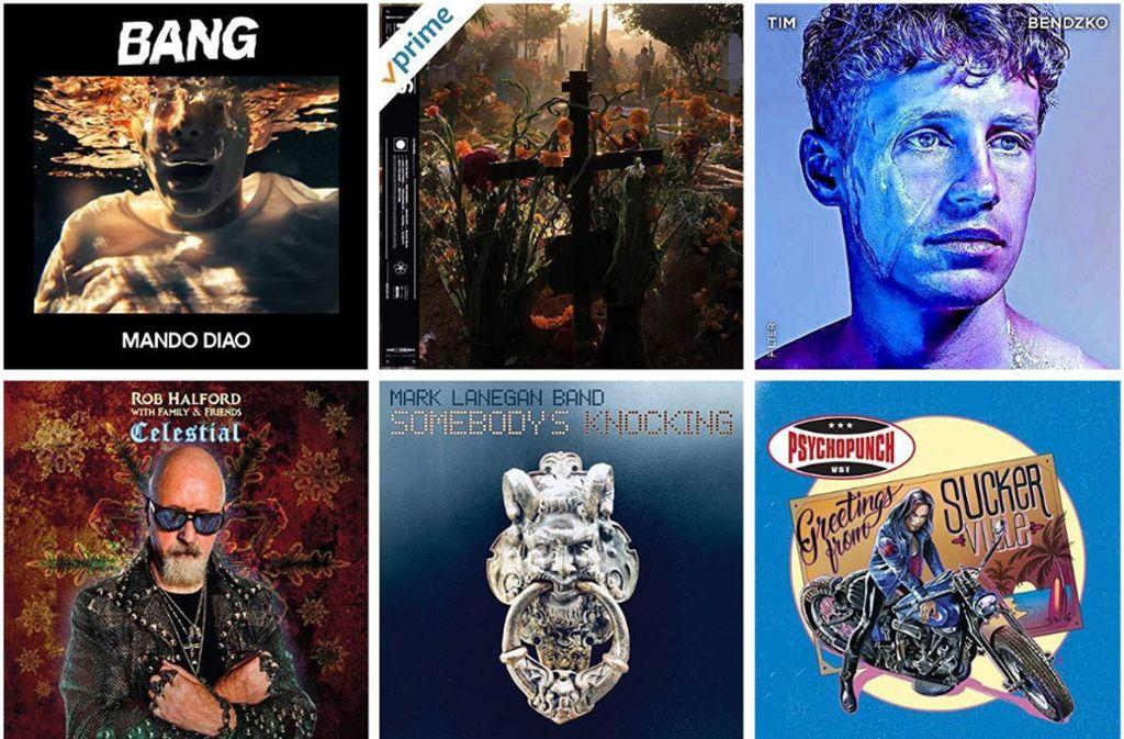 Einige Covers der Rock- und Pop-CDs der Woche Foto: Label