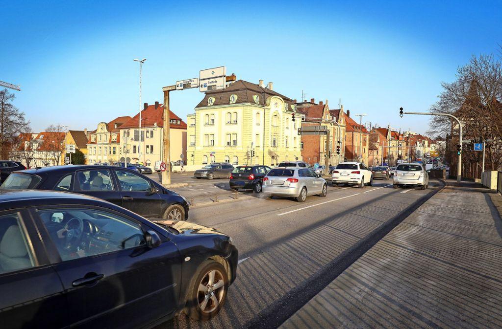 Schwieberdinger-  wird Friedrichstraße: Im Frühjahr soll  diese  Hauptverkehrsachse saniert werden. Foto: factum/Simon Granville