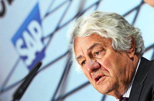 Der SAP-Gründer als Unruhefaktor