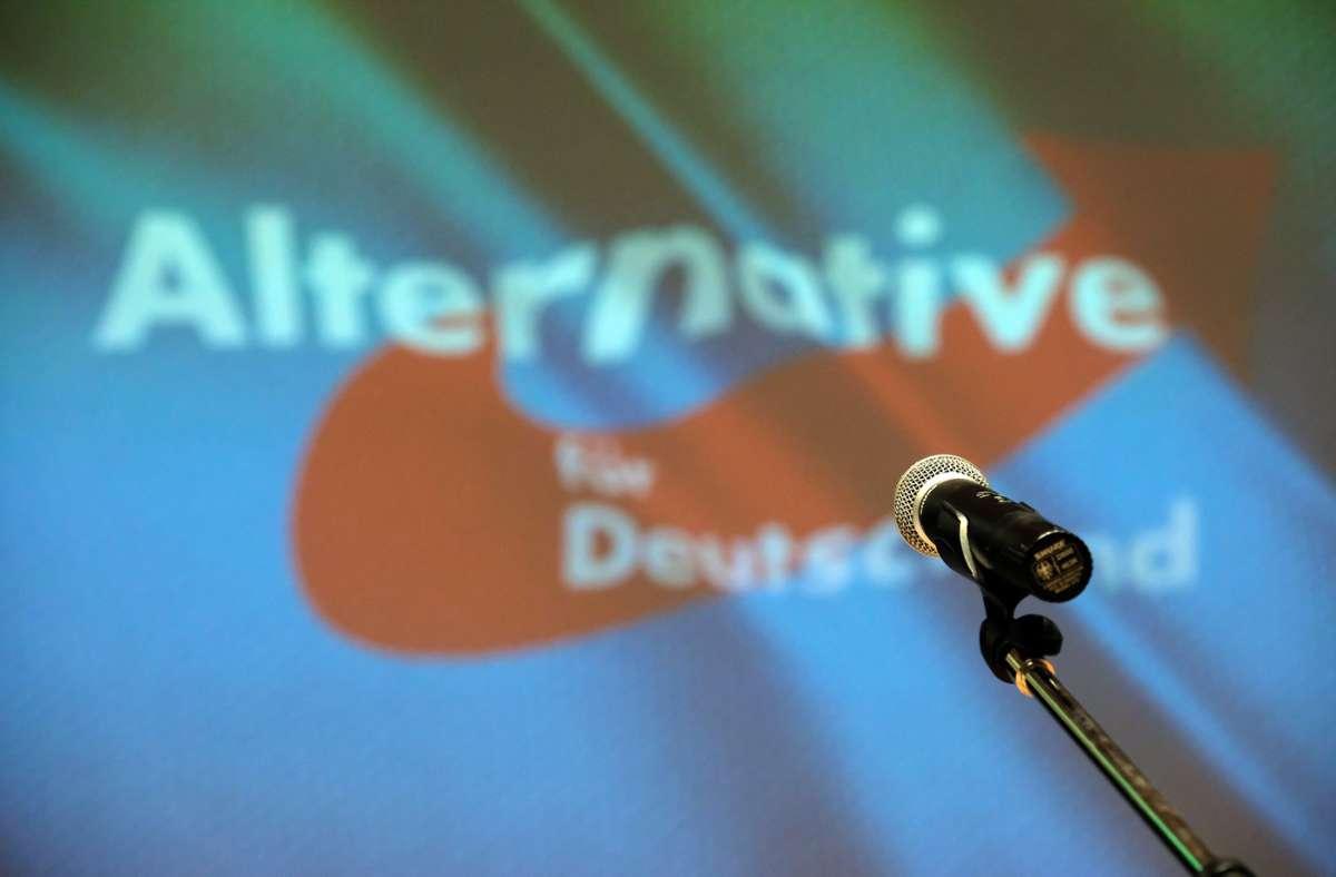 In der Messe Stuttgart soll Anfang Februar ein Parteitag der AfD stattfinden. Ein Online-Format lehnt die Partei ab. Foto: dpa/Sebastian Willnow