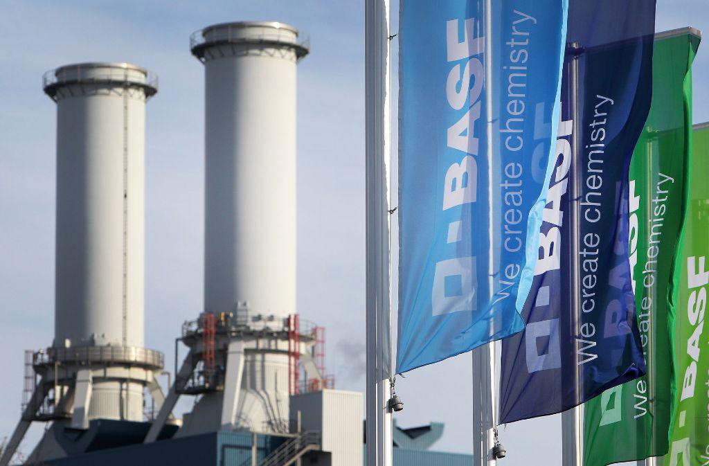 Bei BASF in Ludwigshafen ist giftiges Gas ausgetreten. Foto: AFP