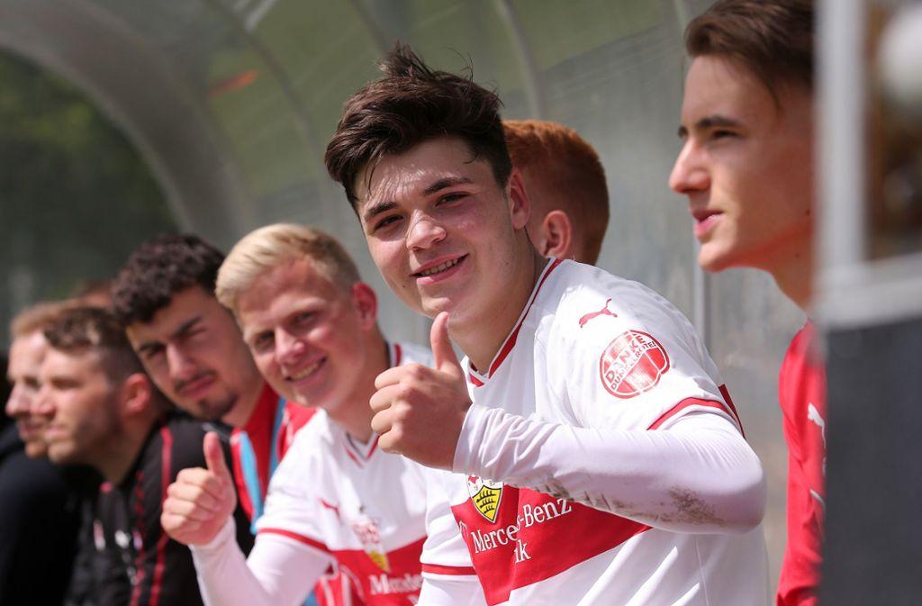 Besonders sehenswert war der Treffer von VfB-Juwel Lilian Egloff (56. Minute), der per Lupfer für die Entscheidung sorgte (Archivbild). Foto: Pressefoto Baumann/Annegret Hilse