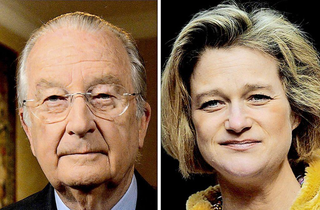 Der frühere belgische König Albert II. hat zugegeben der Vater der Künstlerin Delphine Boël zu sein. Foto: dpa/Lebrun Waem