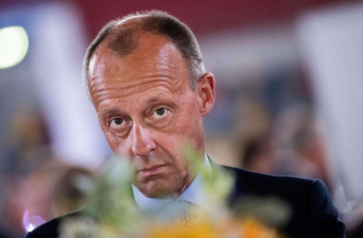 Friedrich Merz hält nichts von der Verschiebung. Foto: dpa/Rolf Vennenbernd