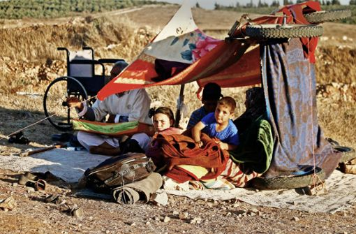 Massenflucht aus dem Süden Syriens