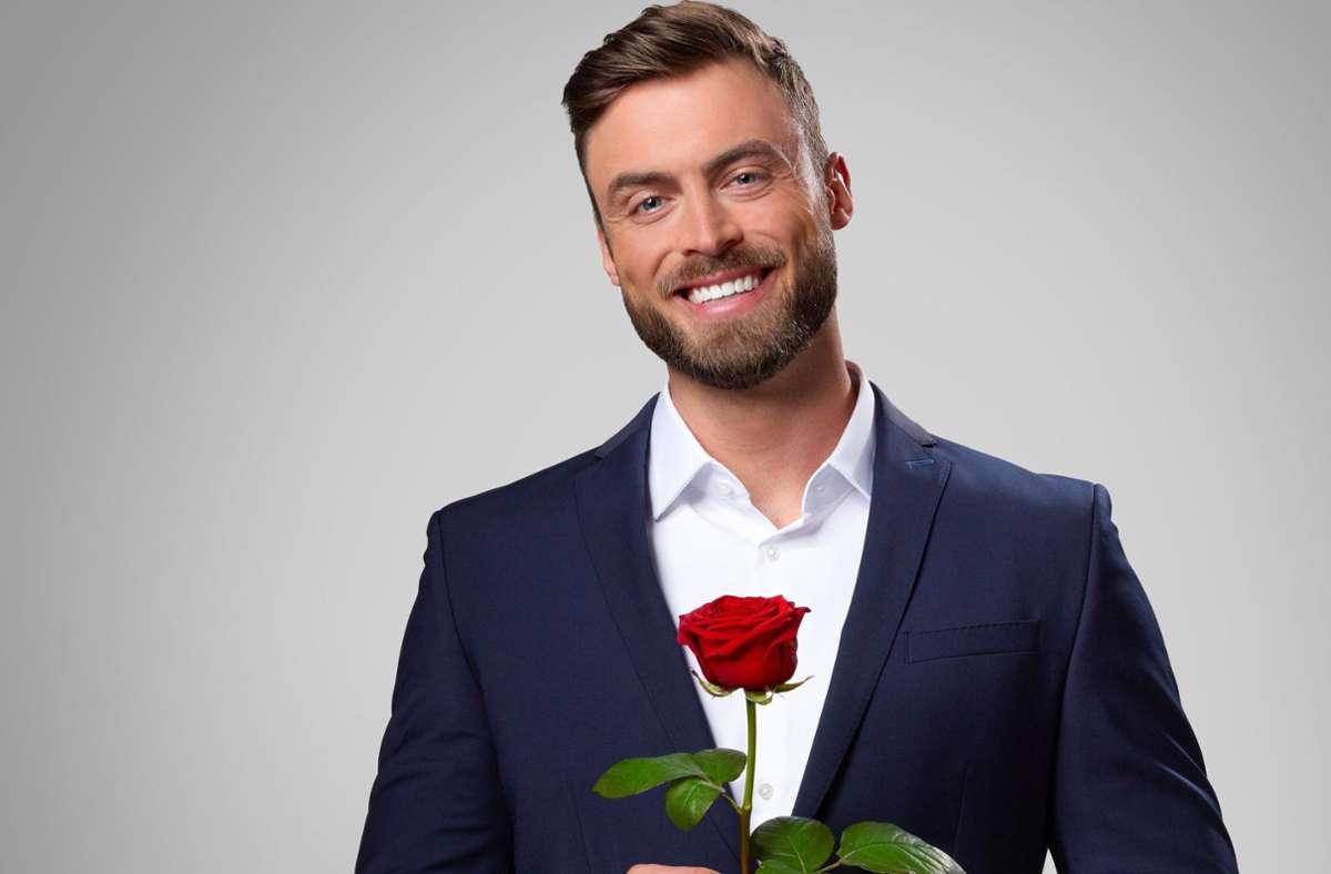 """Niko Griesert verteilt ab Januar in der neuen """"Bachelor""""-Staffel die Rosen. Foto: dpa/TVNOW"""
