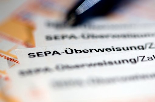 Unternehmen stellen Zahlungen auf Sepa um