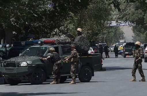 IS-Anschlag vor irakischer Botschaft in Kabul