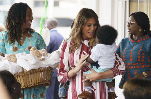 First Lady reist alleine nach Ghana