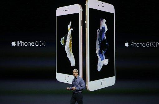 Nach 13 Jahren muss Apple ein Minus verkraften