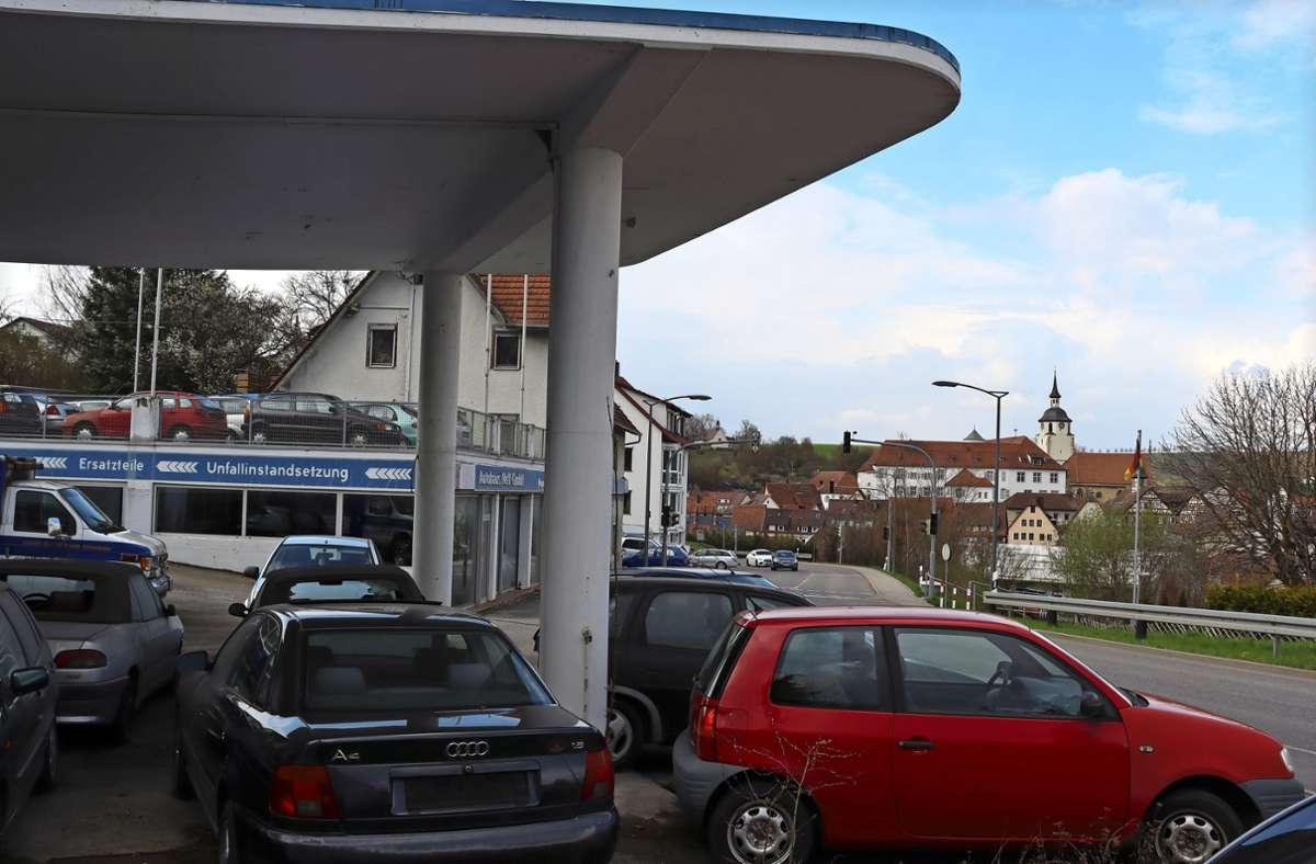 Was wird aus dem Neff-Areal an der Tübinger Straße? Foto: Claudia Barner
