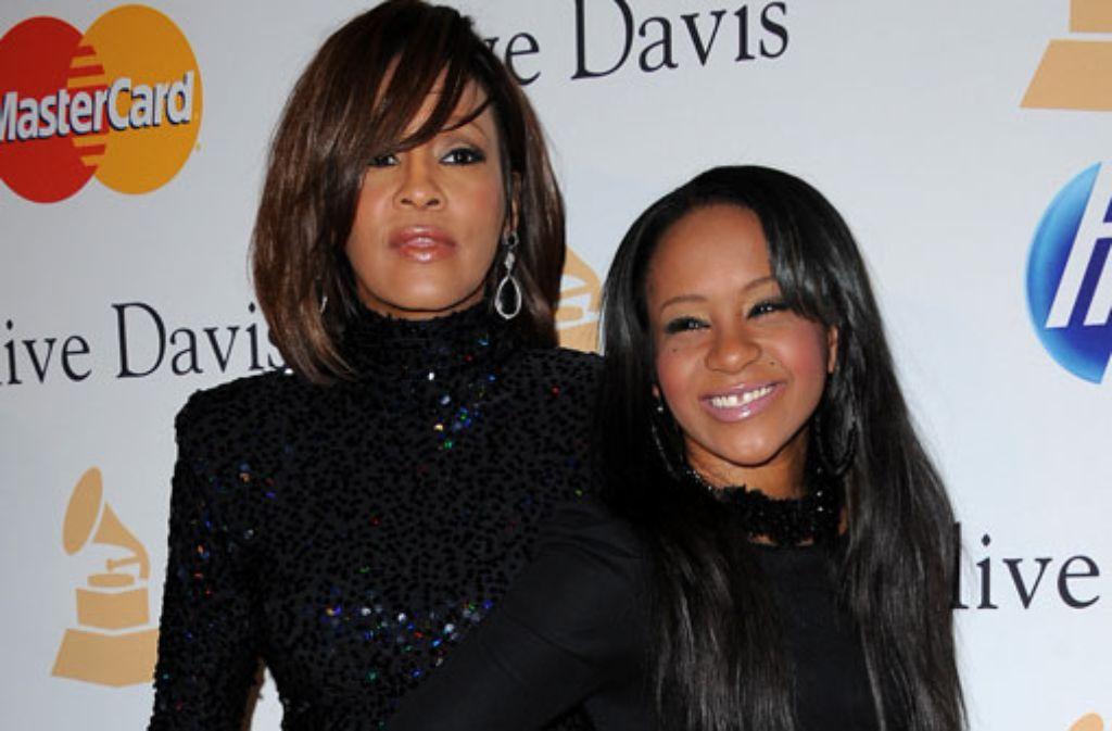 Bobbi Kristina ist die einzige Tochter der verstorbenen Sängerin Whitney Houston. Foto: dpa