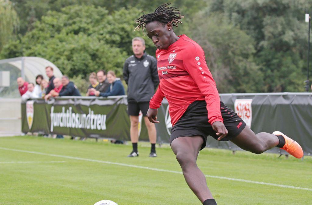 Offensivtalent Tanguy Coulibaly will französischer Nationalspieler werden. Foto: Pressefoto Baumann