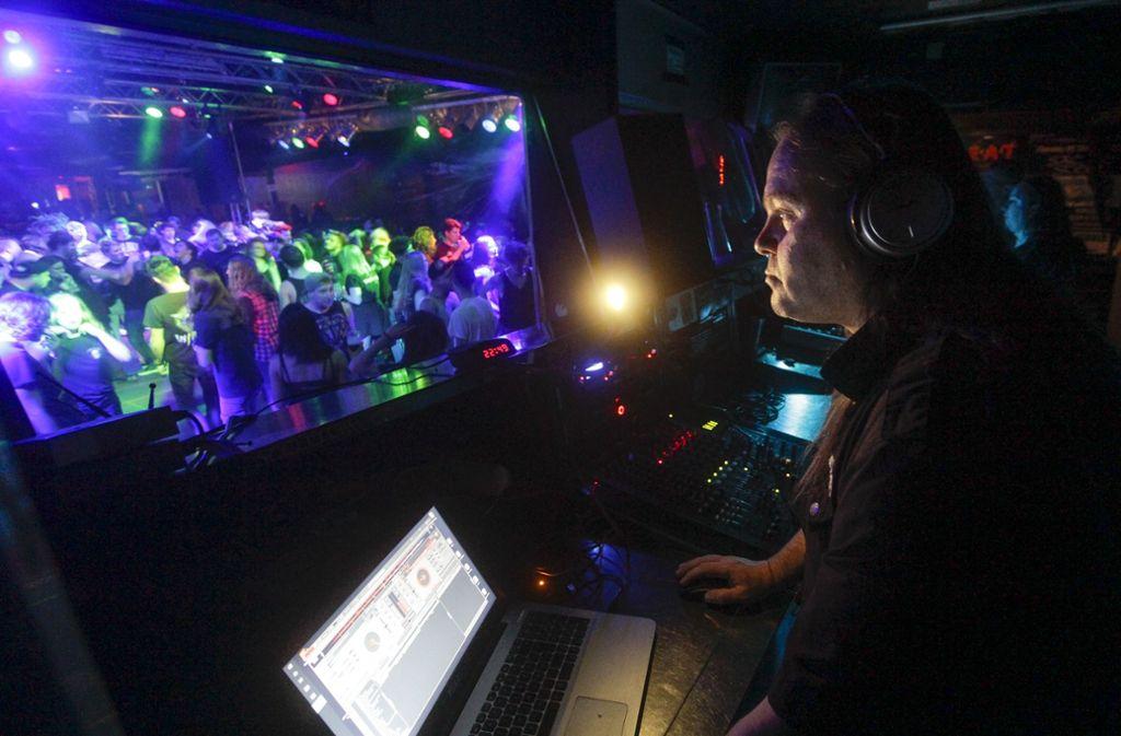 Legt künftig im Waldhaus auf: Rofa-DJ Eddy Freiberger. Foto: /factum /Jürgen Bach
