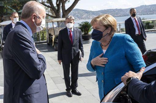 Was Erdogan Merkel zum Abschied empfiehlt