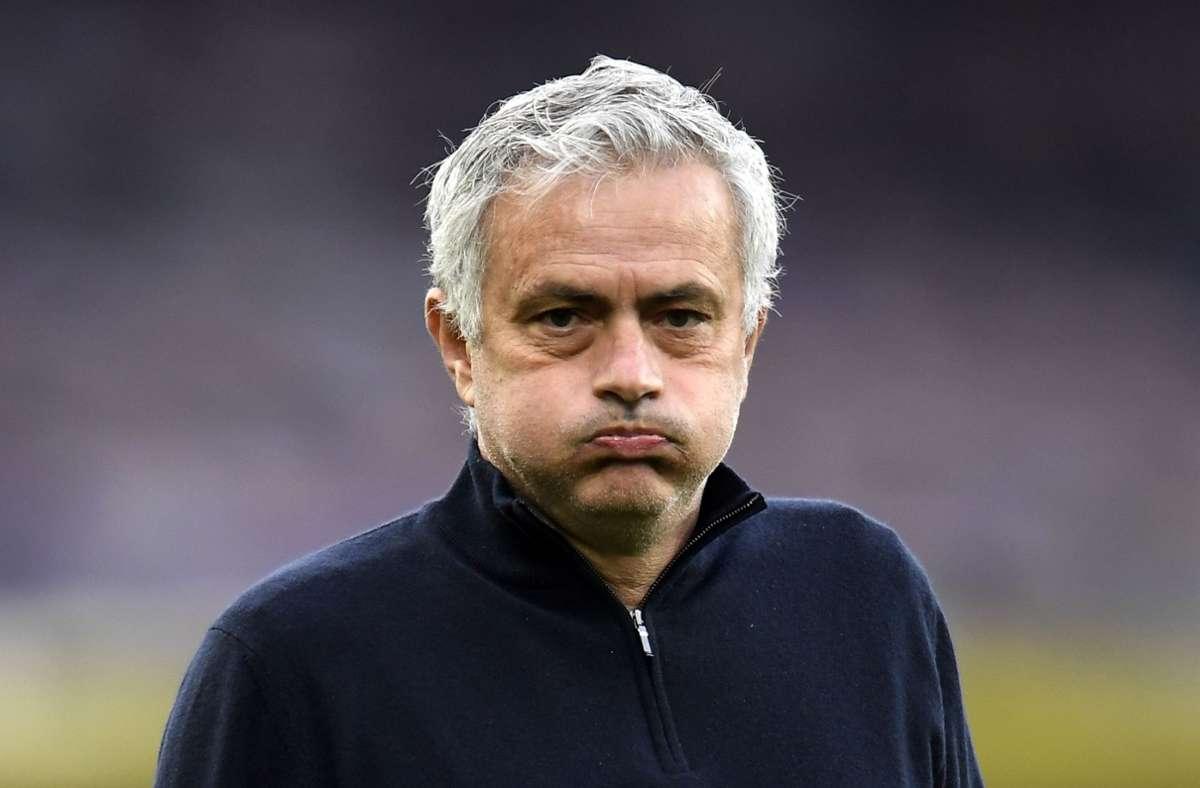 Tottenham Hotspur hat sich von José Mourinho getrennt. Foto: dpa/Peter Powell