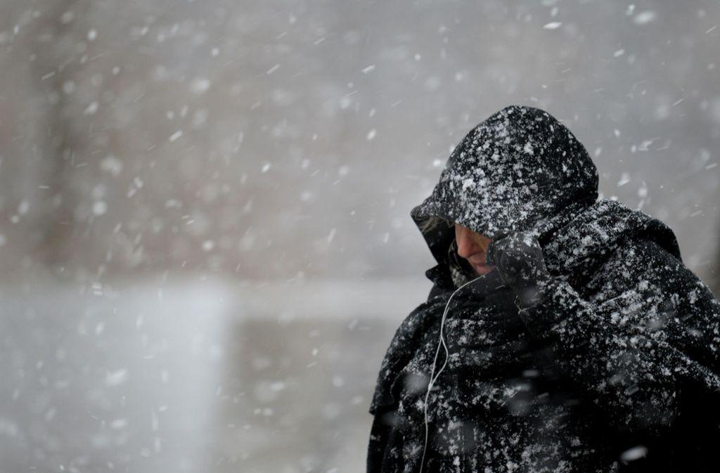 Es ist klirrend kalt in Deutschland. Foto: dpa-Zentralbild