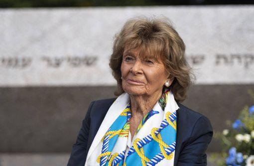Charlotte Knobloch nimmt Entschuldigung von DFB-Chef an