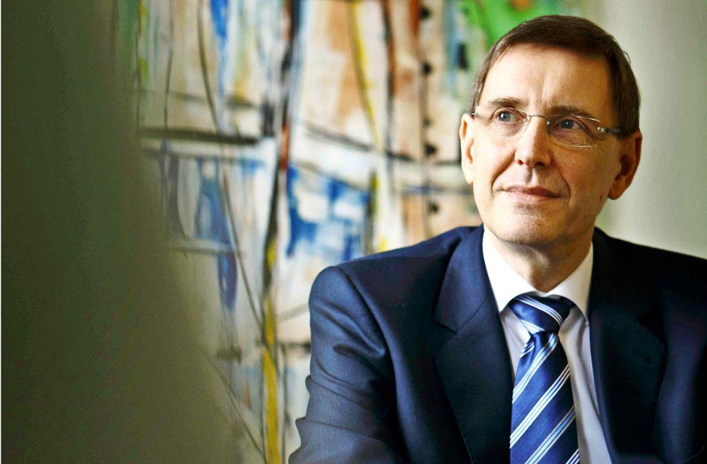 """""""Wir sind irritiert und betroffen"""", sagt Rainer Hinzen von der Diakonie Stetten. Foto: Gottfried Stoppel"""