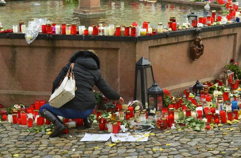 In Endingen trauern die Menschen um die getötete Joggerin. Foto: dpa