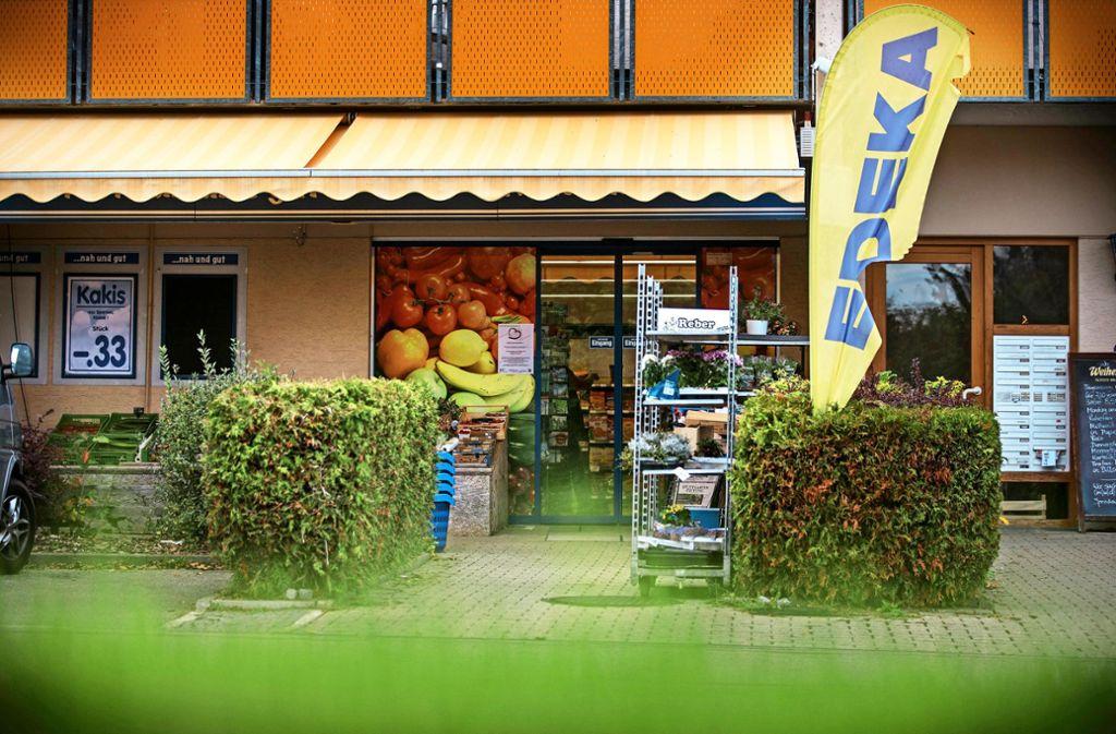 Der Edeka macht zu – und die Gemeinde Althütte sucht eine Übergangslösung. Foto: Gottfried Stoppel