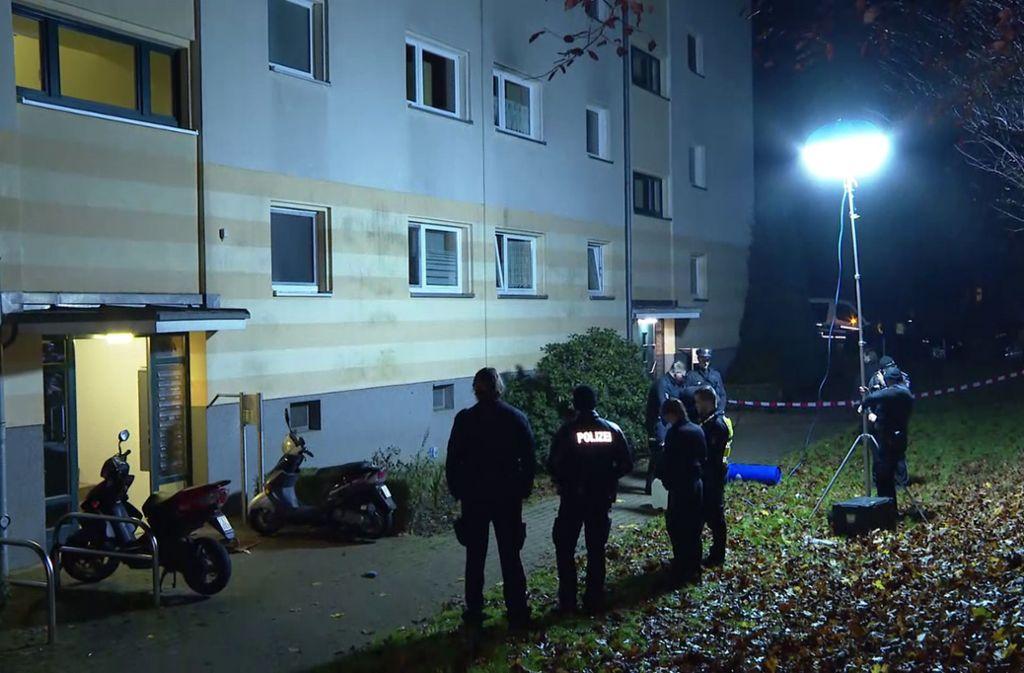 Die Frauenleiche wurde in einem Hamburger Wohngebiet abgelegt. Foto: dpa