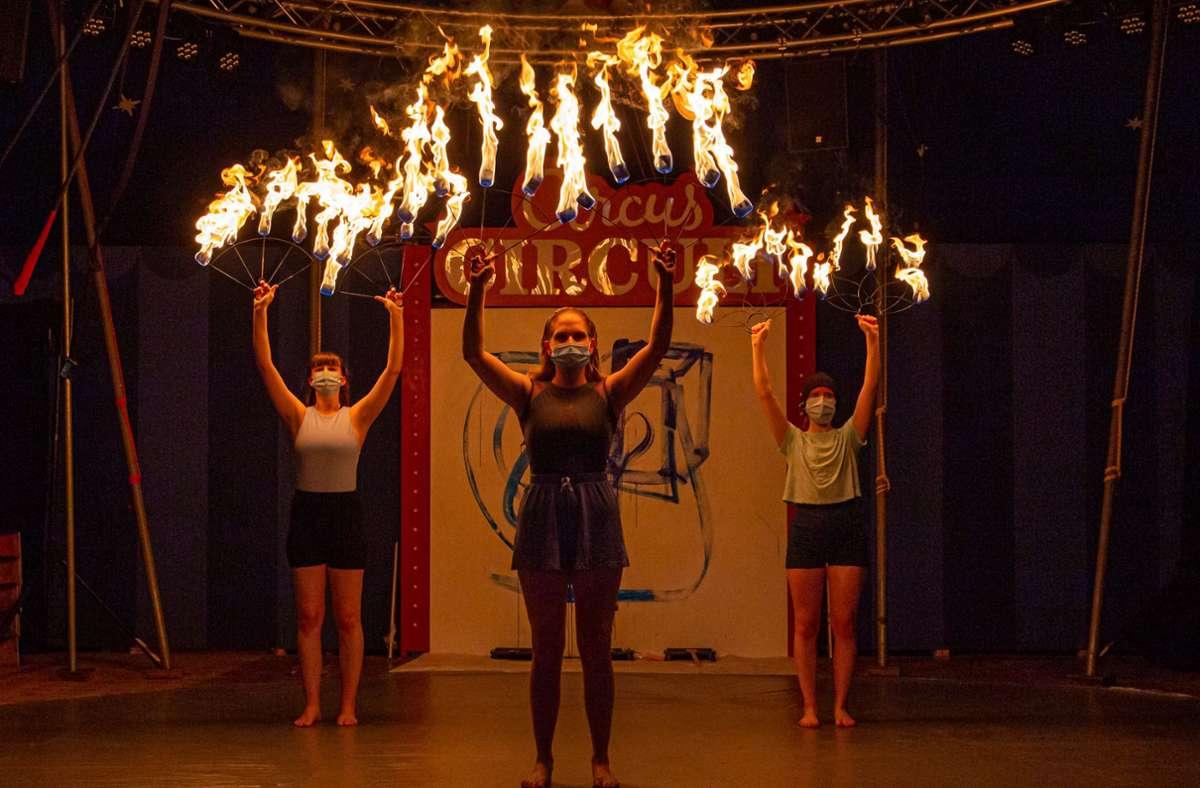 Der Circus Circuli ist ein Act bei Kultur to go in Vaihingen. Foto: privat/cf