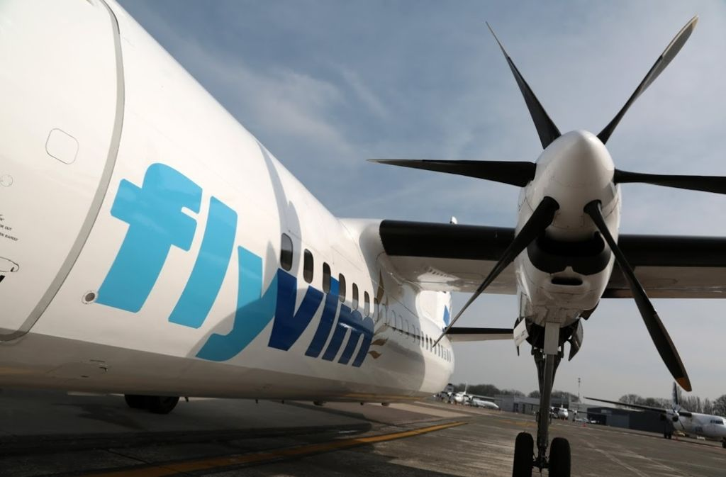 Die Flugzeuge der belgischen Airline VLM bleiben am Boden, die Firma ist pleite. Foto: dpa