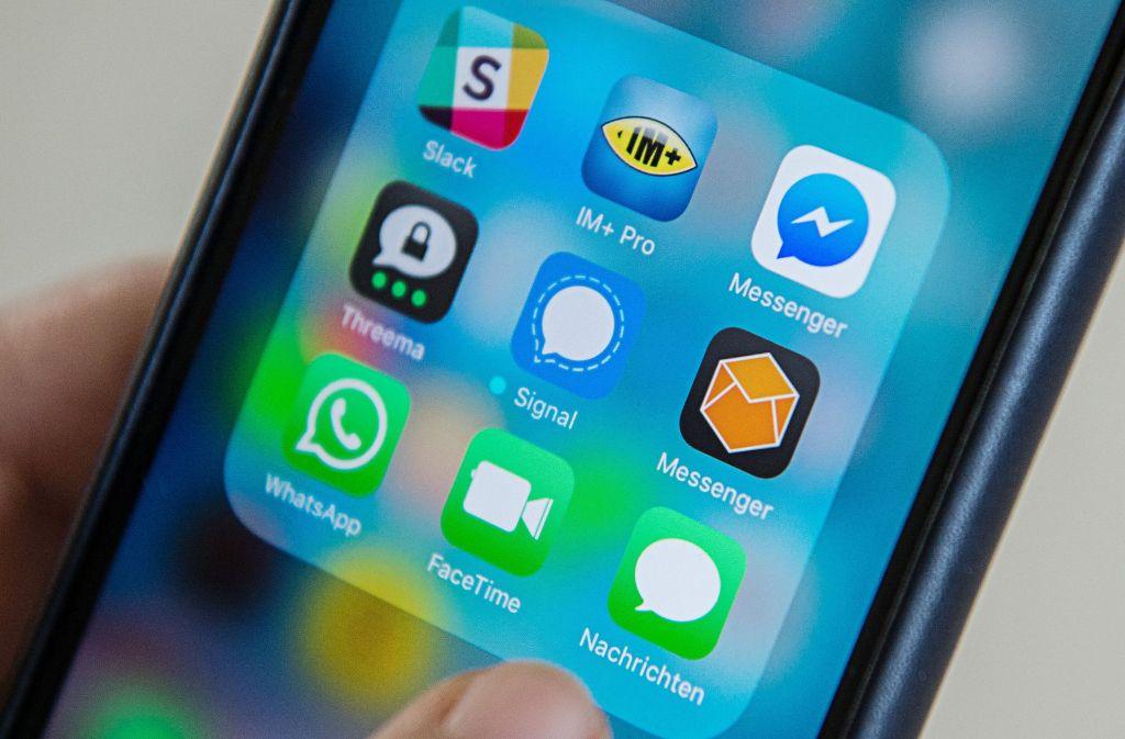 Ohne Messengerdienste ist die Kommunikation kaum mehr vorstellbar. Foto: dpa