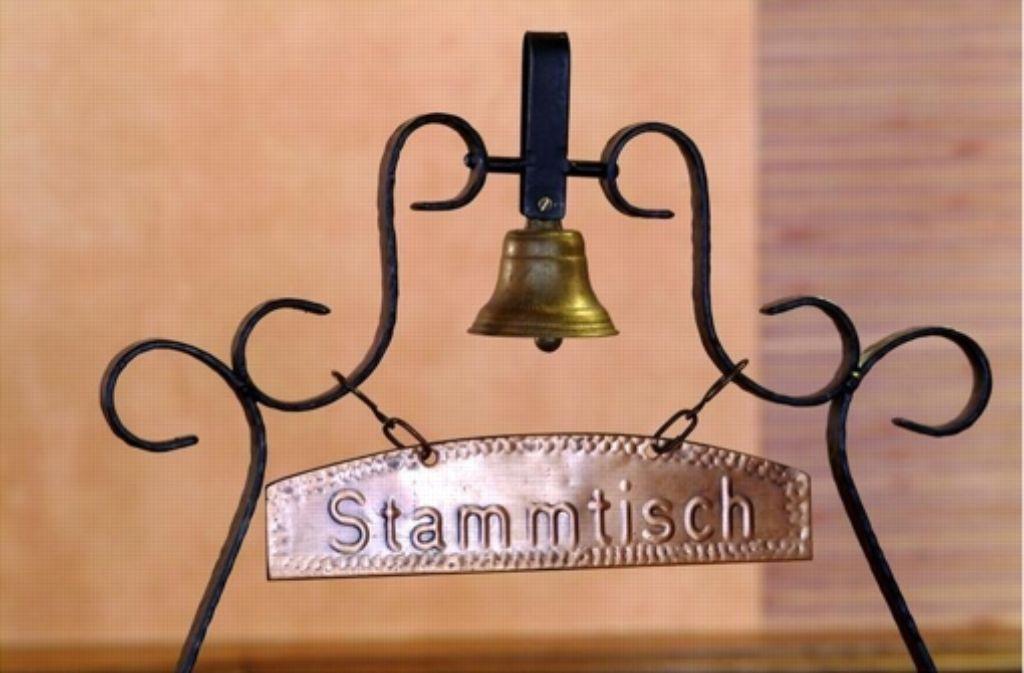 Der Stammtisch der Christdemokraten findet im Restaurant Steinhalde statt. Foto: www.mauritius-images.com