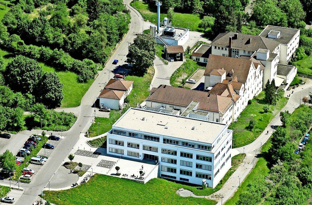 Das Marbacher Krankenhaus wird geschlossen. Das Areal könnte aber als Außenstation der großen Kliniken dienen. Foto: Kuhnle/Archiv