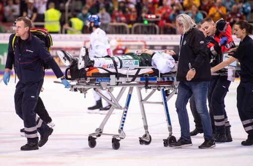 Teamarzt rettet Eishockey-Profi das Leben