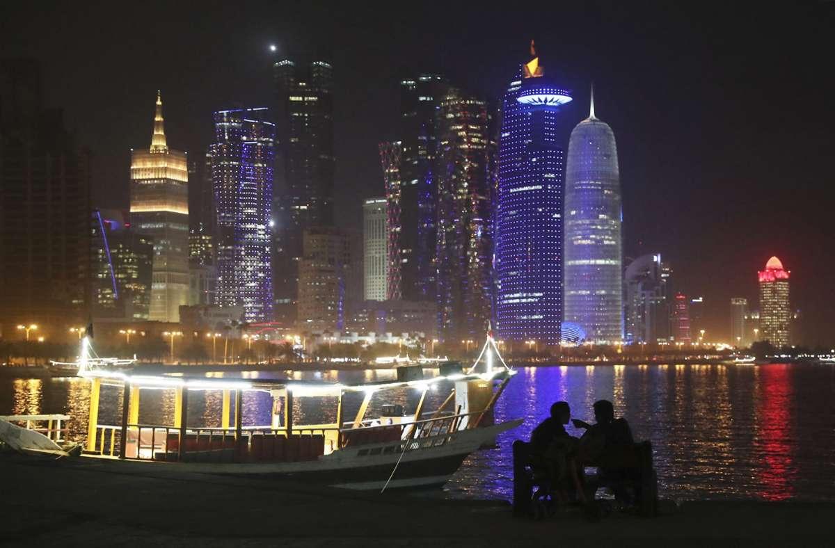 Doha – Hauptstadt des Scharia-Staates Katar. Foto: AP/Kamran Jebreili