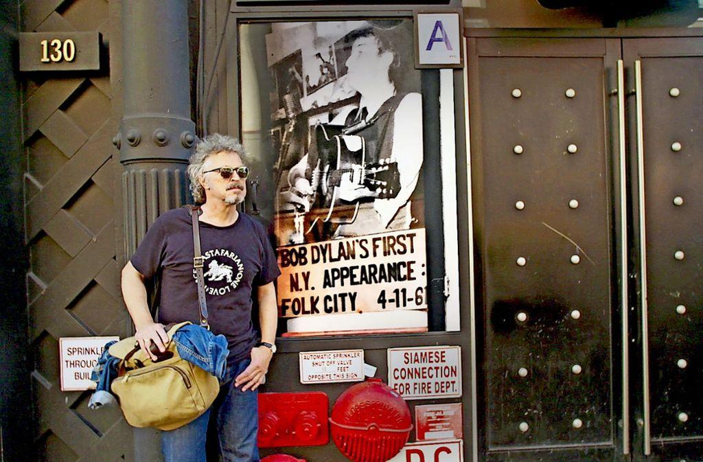 Wer ist hier der Star? Wolfgang Niedecken auf der Durchreise Foto: WDR