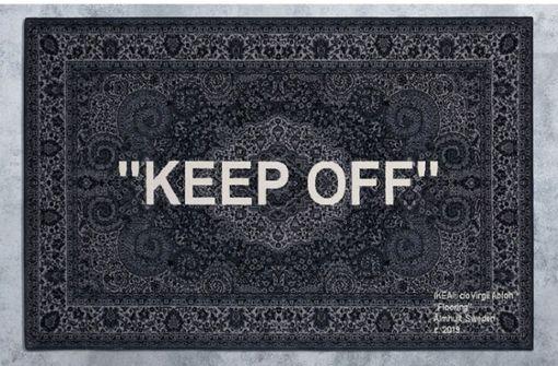 Warum man für diesen Ikea-Teppich an einer Verlosung teilnehmen muss