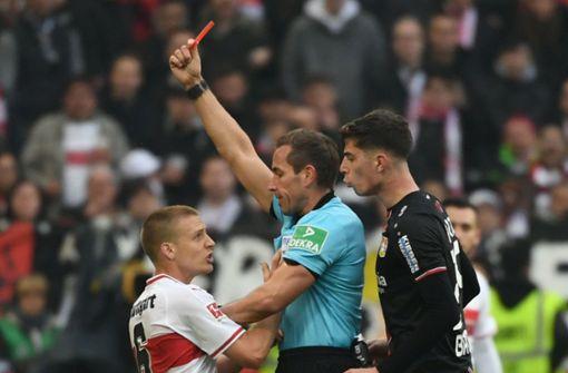VfB steht auch in der Fairplay-Tabelle auf einem Abstiegsplatz