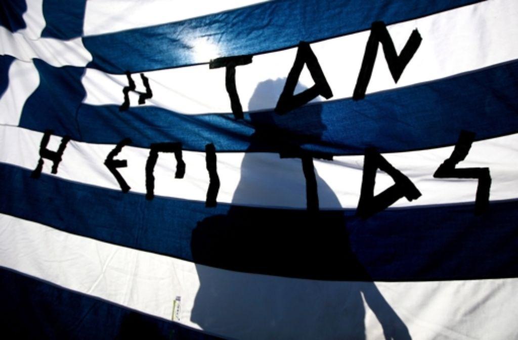 Griechenland droht mal wieder der Staatsbankrott. Foto: dpa