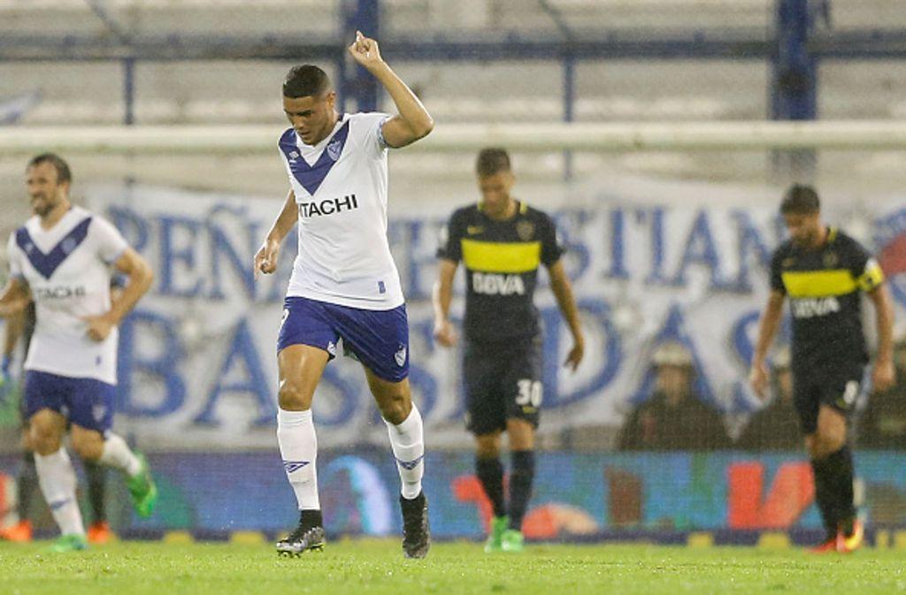 Maxi Romero gilt als eines der größten Talente im südamerikanischen Fußball. Foto: Getty