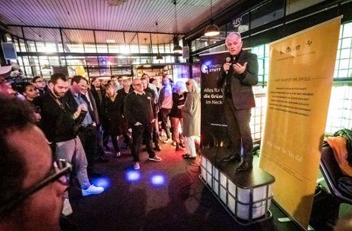 Kuhns  Antrittsbesuch bei der Stuttgarter Start-up-Szene