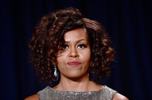 Michelle Obama lässt Locken sprechen