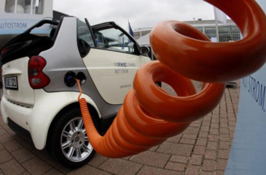 Gegenüber Elektroantrieben herrscht in Deutschland Skepsis. Foto: AP