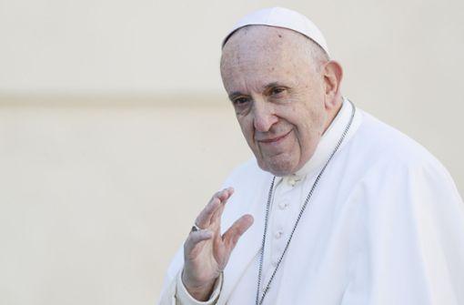 """Papst warnt vor Homosexualität als """"Modeerscheinung"""""""